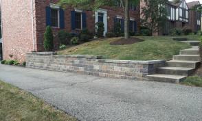 Versa-Lok Driveway Retaining Wall