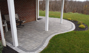 Techo Bloc Curved Patio